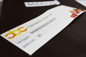 Cebu Blog Camp 2011