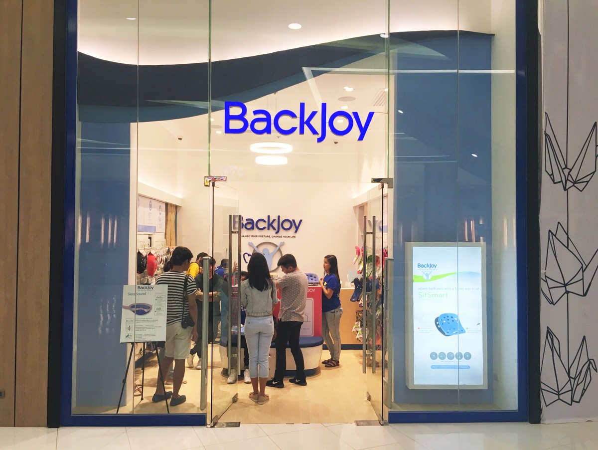 Backjoy SM Seaside City Cebu