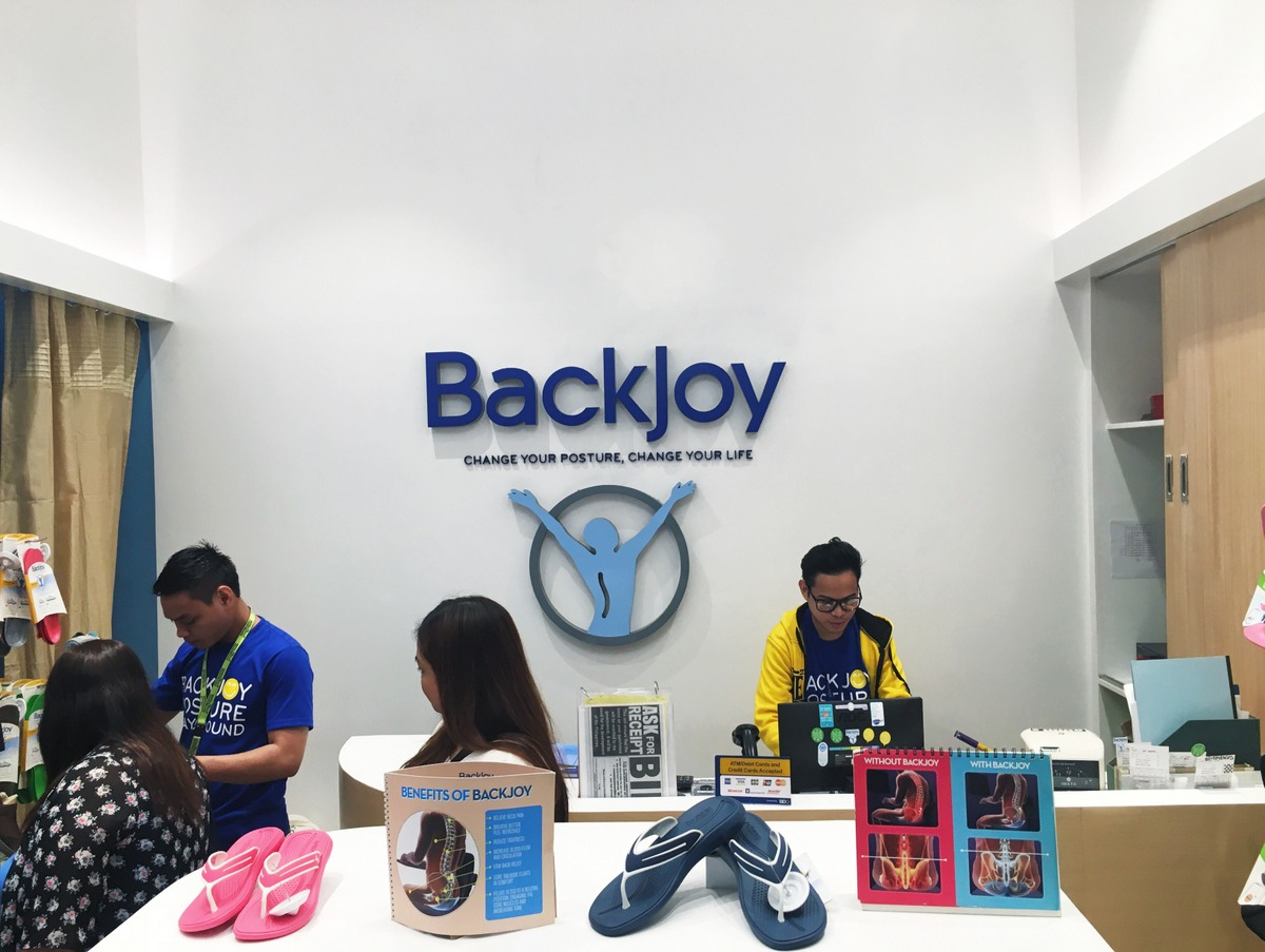 Backjoy SM Seaside City Cebu