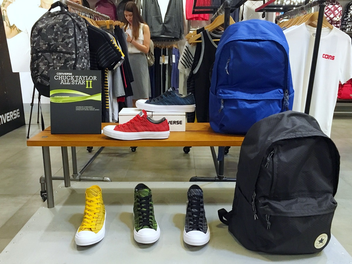 Converse Footwear and Apparel Lines