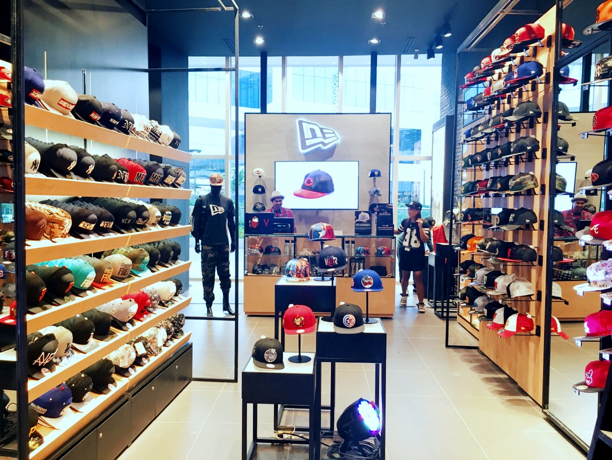 New Era Cap opens store in Cebu – Count Ocram 7f99e65a443