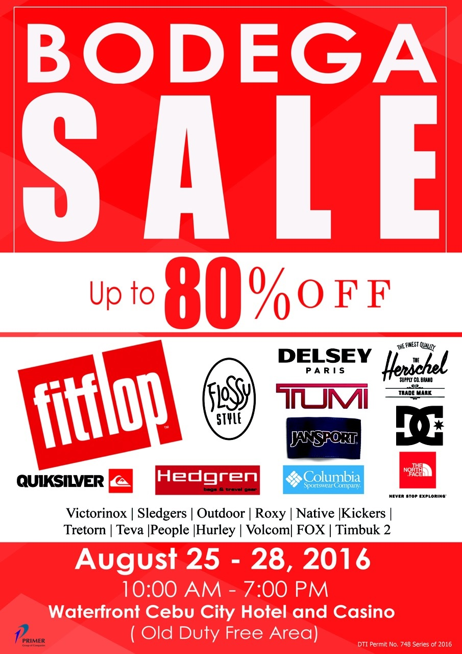 Primer Group of Companies Bodega Sale in Cebu