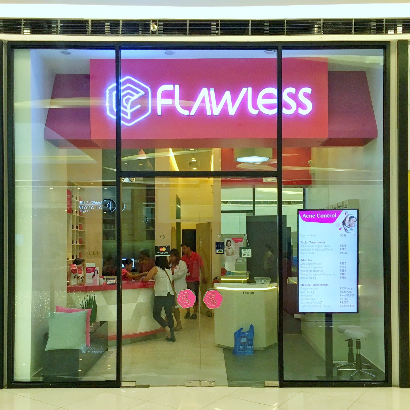 Flawless SM Seaside City Cebu