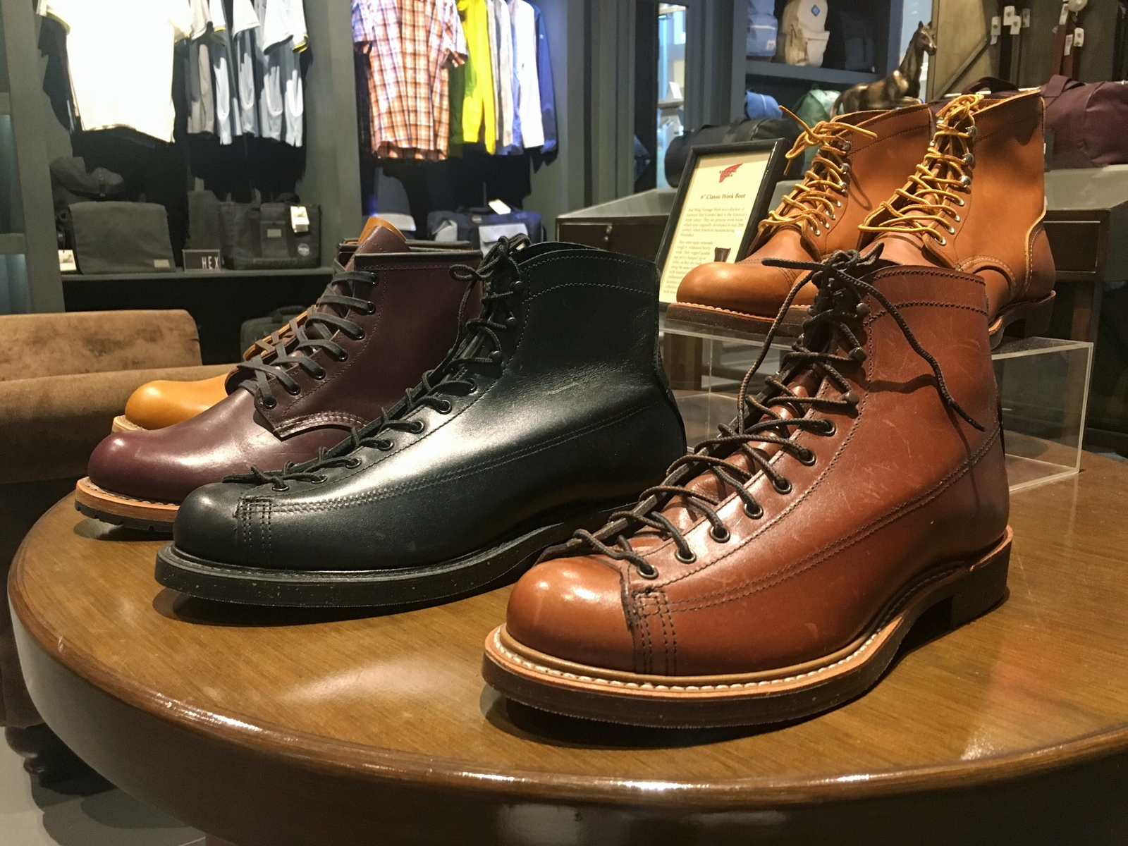 Red Wing Shoes at General Ayala Center Cebu