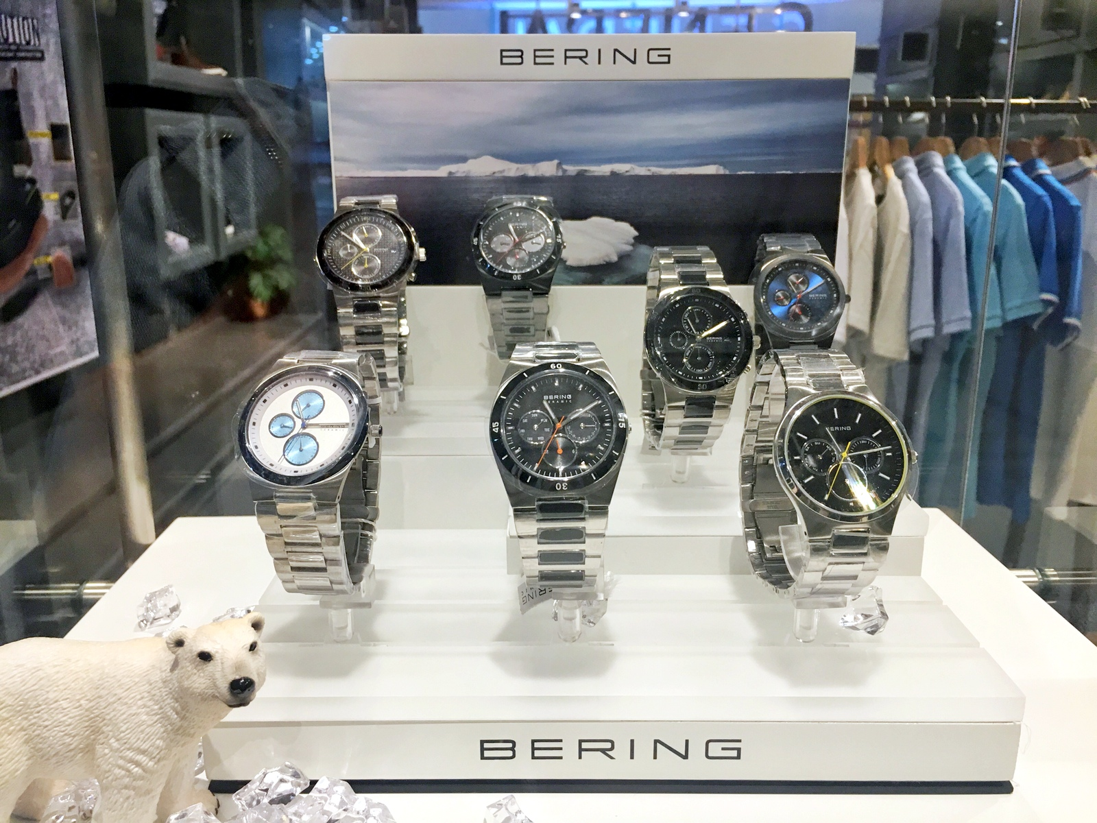 Bering Watches at General Ayala Center Cebu