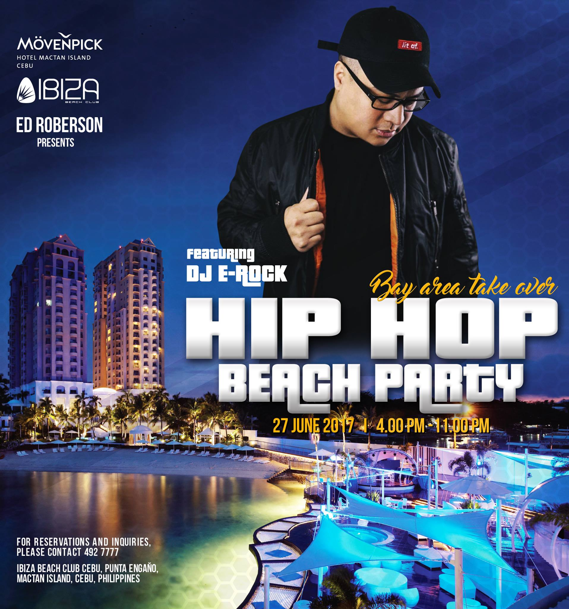 Hip Hop Beach Party