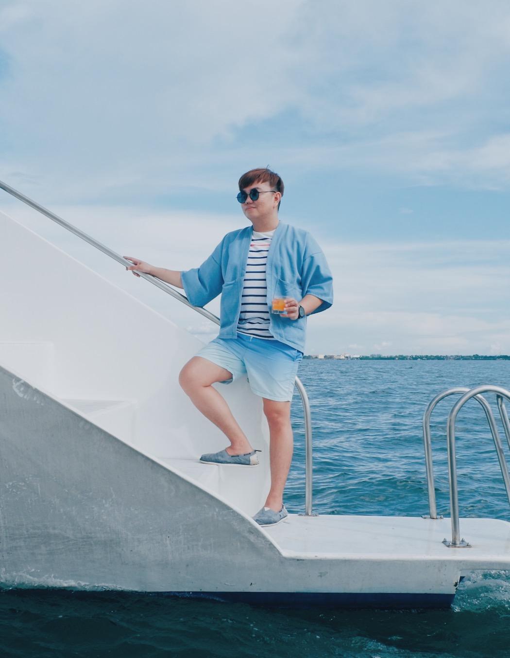 Yachting in Modern Kimono