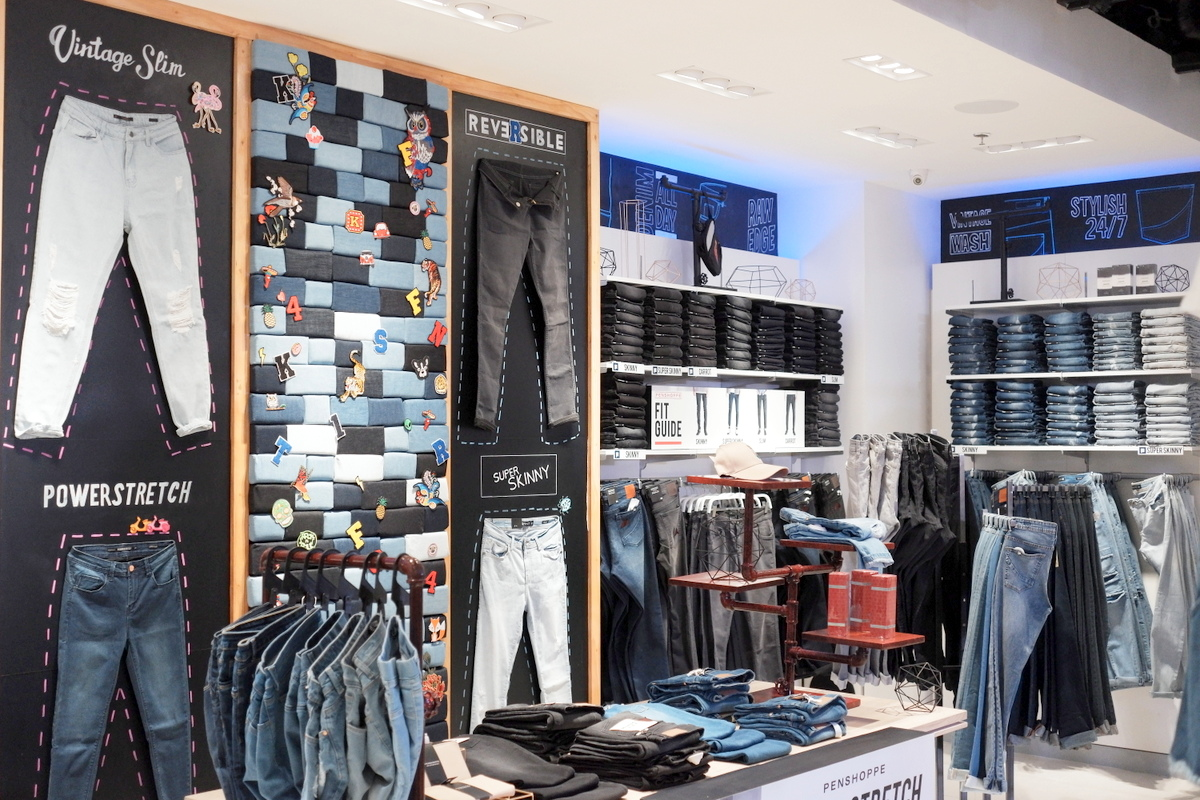 Penshoppe reopens in Ayala Center Cebu