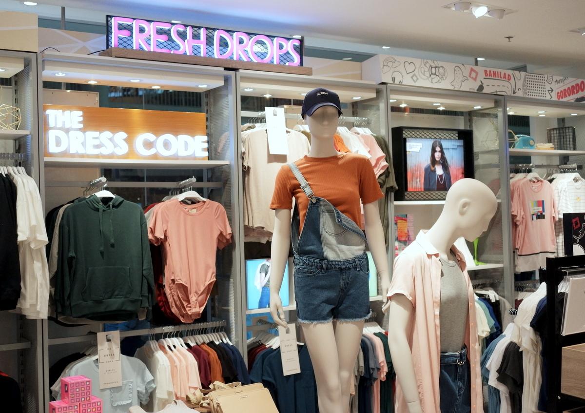 Penshoppe reopens in Ayala Center Cebu