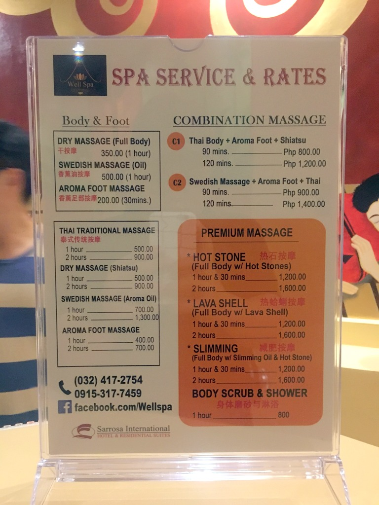 Well Spa Sarrosa Cebu