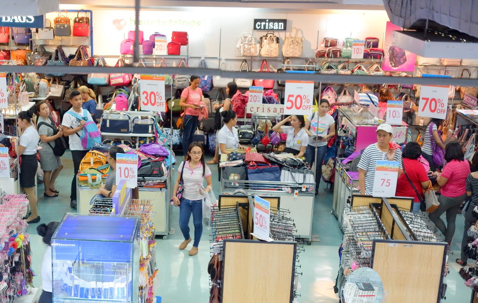 Metro Department Store Sidewalk Sale