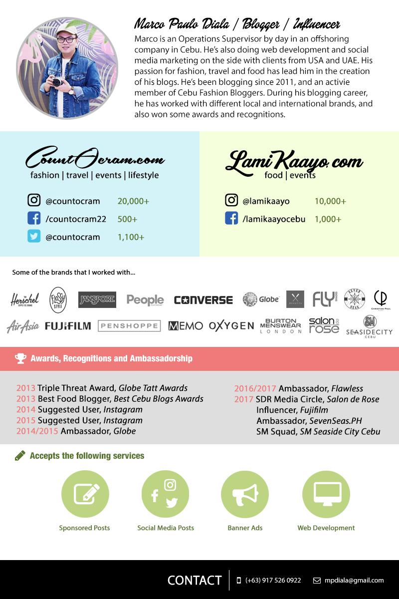 CountOcram Media Kit